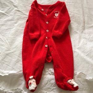 Carter's Pajamas - Christmas footie